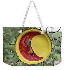Painted Weekender Tote Bag
