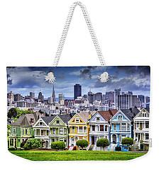Painted Ladies Of San Francisco  Weekender Tote Bag by Carol Japp