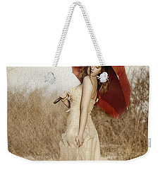 Painted Lady Narrow Weekender Tote Bag