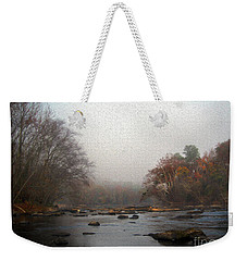 Painted Late Fall On The Saluda Weekender Tote Bag