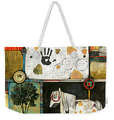 Painted Mare, Cottonwood, War Pony  Weekender Tote Bag