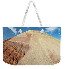 Weekender Tote Bag featuring the photograph Painted Mound by Greg Nyquist