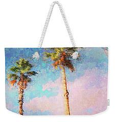 Painted Palms Weekender Tote Bag