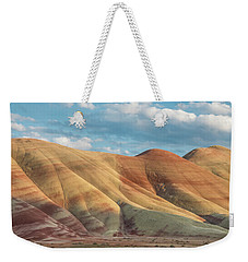Weekender Tote Bag featuring the photograph Painted Ridge And Sky by Greg Nyquist