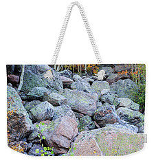 Painted Rocks Weekender Tote Bag