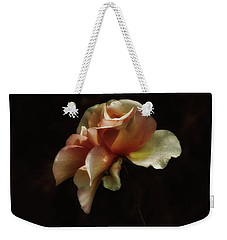 Painted Roses Weekender Tote Bag by Elaine Malott