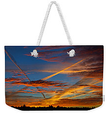 Painted Skies Weekender Tote Bag