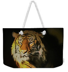 Painted Tiger Weekender Tote Bag