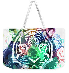 Painted Tiger Weekender Tote Bag by Steve McKinzie
