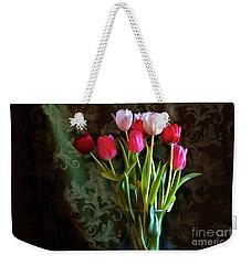Painted Tulips Weekender Tote Bag