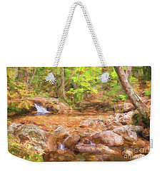 Painted Waterfall Foliage Weekender Tote Bag