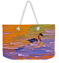 Painterly Escape Weekender Tote Bag