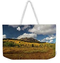 Painterly Kebler Pass Weekender Tote Bag