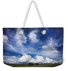 Painterly Sky Over Oklahoma Weekender Tote Bag