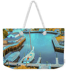 Painterly Tuckerton Seaport Weekender Tote Bag