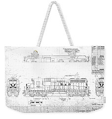 Painting And Lettering Diagramgp30 Weekender Tote Bag