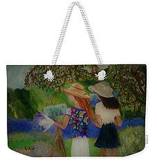 Painting In France Weekender Tote Bag