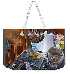 Painting Things Weekender Tote Bag