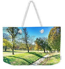 Painting With Shadows - Park Day Weekender Tote Bag
