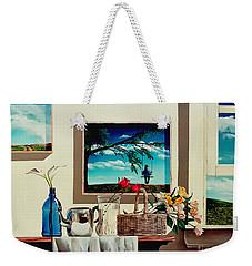 Paintings Within A Painting Weekender Tote Bag