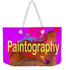 Paintography Weekender Tote Bag