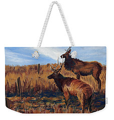 Pair O' Bulls Weekender Tote Bag