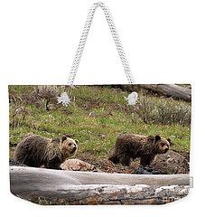 Pair Of Bears-signed Weekender Tote Bag