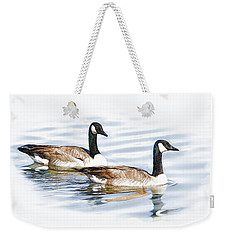 Pair Of Geese Weekender Tote Bag