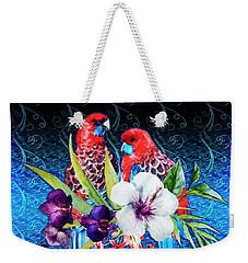 Paired Parrots Weekender Tote Bag