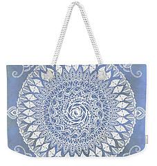 Paisley Moon Henna Mandala Weekender Tote Bag