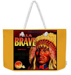 Pala Brave 1920s Sunkist Oranges Weekender Tote Bag by Peter Gumaer Ogden