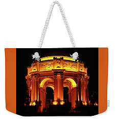 Palace Of Fine Arts - Dome At Night Weekender Tote Bag