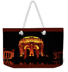 Palace Of Fine Arts - Night Profile Weekender Tote Bag