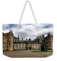 Palace Of Holyroodhouse  Weekender Tote Bag by Judy Palkimas