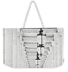 Palais-royal Arcade Black And White - Paris, France Weekender Tote Bag by Melanie Alexandra Price