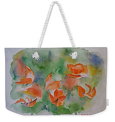Palash - Flame Of The Forest Weekender Tote Bag