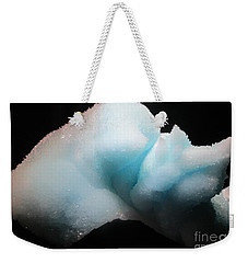 Pale Blue Gemstone Weekender Tote Bag