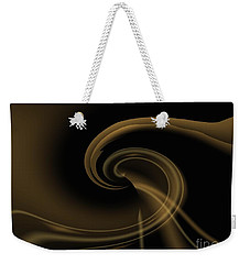 Pale Darkness - Abstract Weekender Tote Bag