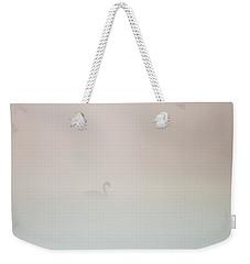 Pale Outline In The Fog Weekender Tote Bag