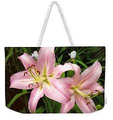 Pale Pink Beauties Weekender Tote Bag