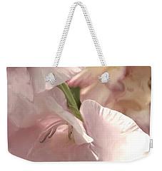 Pale Pink Glads Weekender Tote Bag