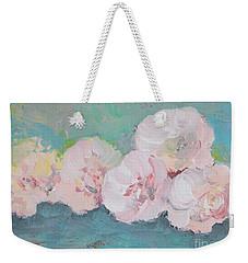 Pale Pink Peonies Weekender Tote Bag