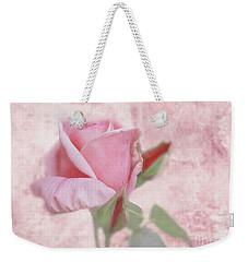 Pale Pink Rose Weekender Tote Bag