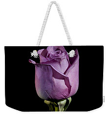 Pale Purple Rose Weekender Tote Bag