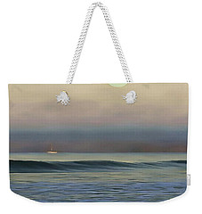Pale Sunset Weekender Tote Bag