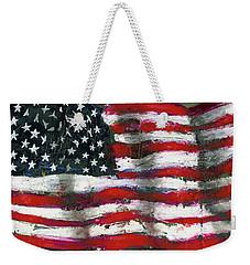 Palette Flag Weekender Tote Bag