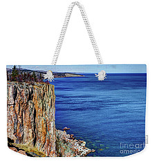 Palisade Head Tettegouche State Park North Shore Lake Superior Mn Weekender Tote Bag
