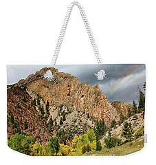 Palisades Rainbow Weekender Tote Bag