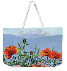 Pallet Knife Poppies Weekender Tote Bag