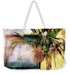 Palm And Window Weekender Tote Bag by Robert Smith